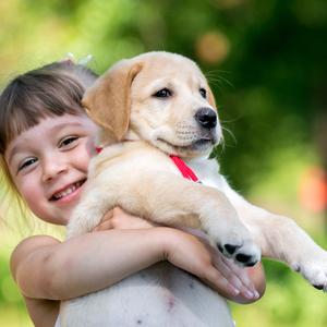 免疫力がUP!子どもを犬と一緒に育てると得られる素敵な影響とは?