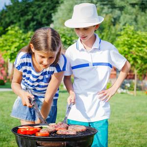 バーベキューにキャンプ♪子供と一緒に野外料理を楽しみませんか?