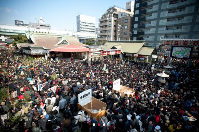 大阪の今宮戎神社