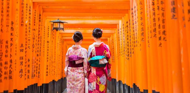 京都の伏見稲荷大社