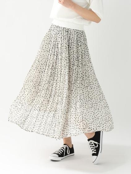ハニーズのドット柄スカート