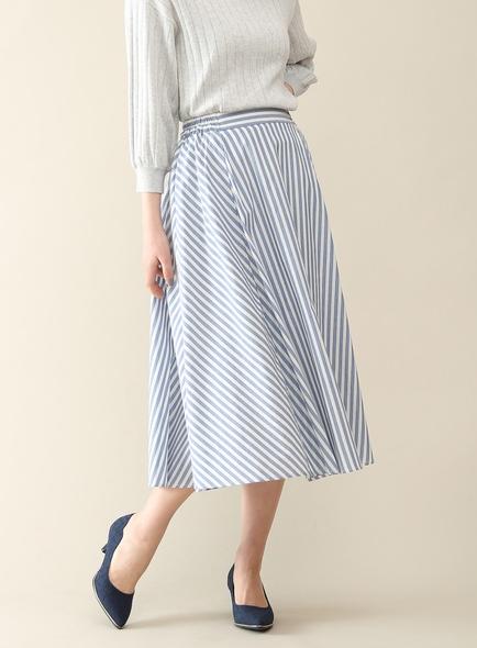 ハニーズのストライプ柄スカート