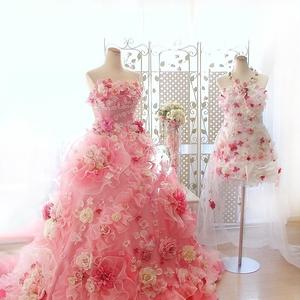 お花のドレスが可愛い!「ハニサクル」のプリンセスドレス4選