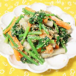 万能食材ゴマの活用レシピをチェック♪健康にも美容にもGOOD!