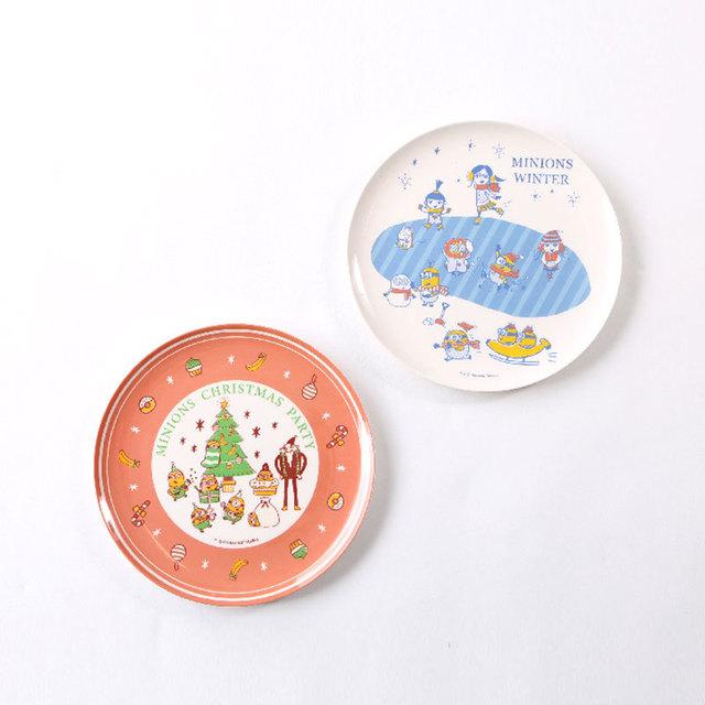 ミニオンズのクリスマスデザインなメラミン食器