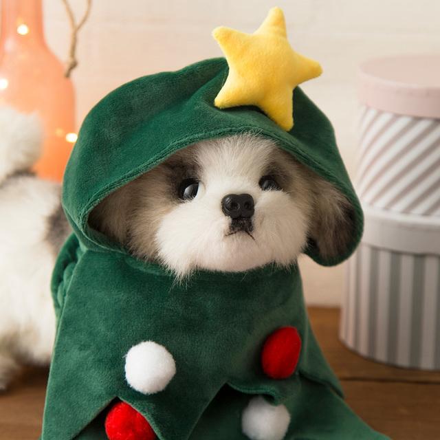 ペット用のクリスマスコスチューム