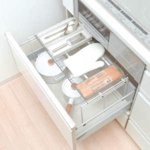 「シンク下」のスペースを有効活用♪キッチンのすっきり収納アイデア