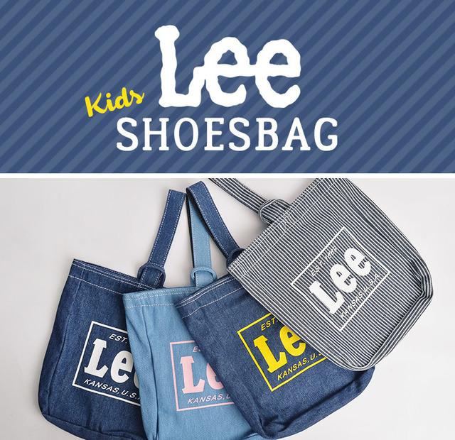 Leeのデニムシューズバッグ