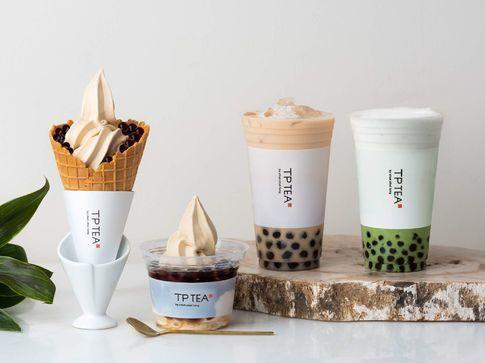 TP TEAの台湾スイーツ
