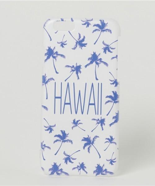ハワイ柄のiPhoneケース