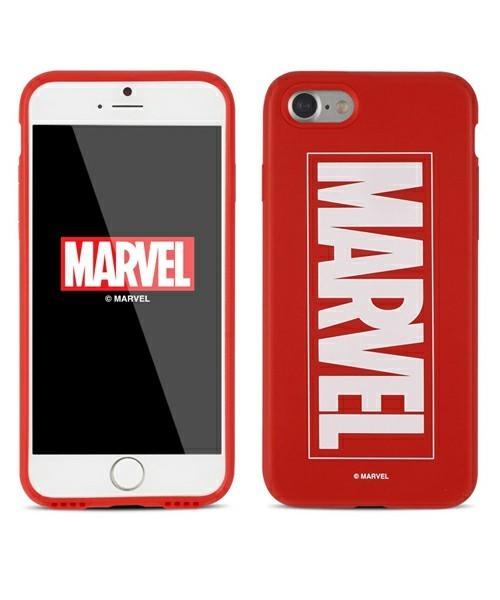 マーベルのロゴ入りiPhoneケース