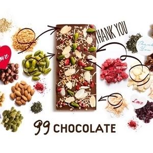 世界に一つだけ♡自分好みのチョコレートをカスタマイズできるサイト
