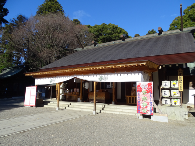茨城の常磐神社