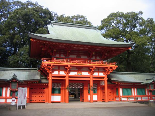 埼玉県の氷川神社