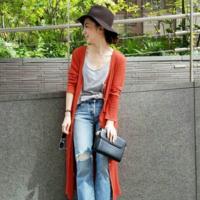 用「鮮豔顏色開襟衫」來提昇運勢!色彩效果的冬季穿搭特集♡