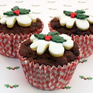 クリスマスがテーマ♡海外のおしゃれな簡単カップケーキレシピ集