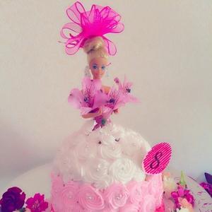 バースデーに!好きなキャラクターで簡単可愛いドールケーキ♡