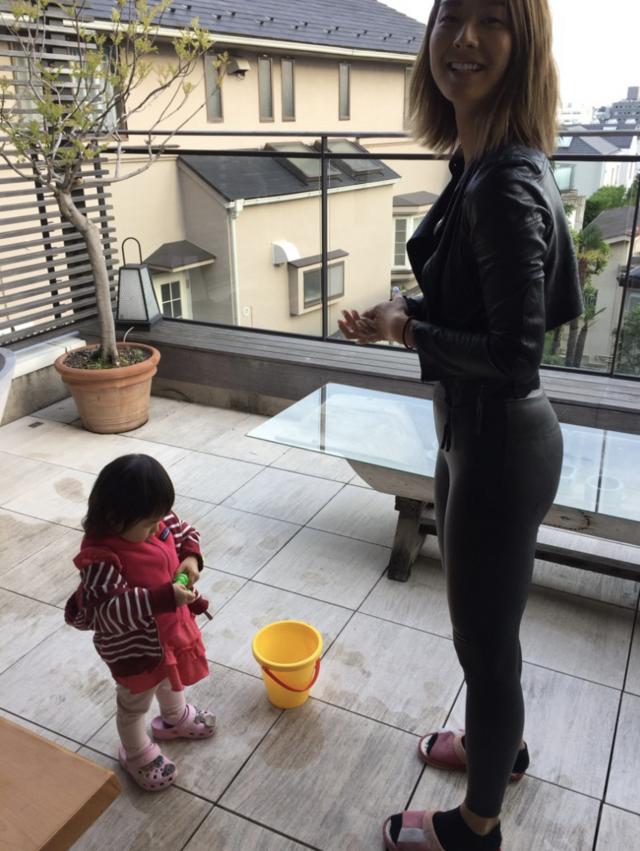 東尾理子  すみれ 子育て