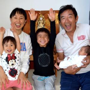 第3子が誕生した東尾理子さんファミリー!大家族になった子育てに密着♪
