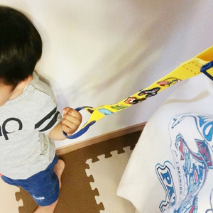 歩き盛りキッズママ必見!100均で簡単&安心「吊り輪」の作り方