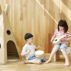 無印良品のおもちゃ「じぶんで作る」シリーズが子どもに大人気!