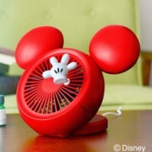 インテリアとしても可愛い♡ミッキーモチーフの扇風機をcheck!