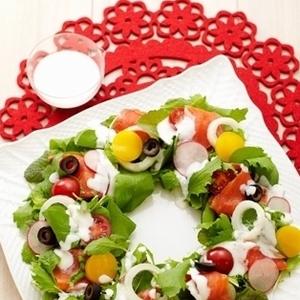 クリスマスパーティーにピッタリ♡子供も喜ぶ前菜サラダレシピ4つ