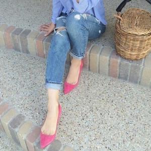 紗栄子さんも夢中♡オシャレな「カラーパンプス」の着こなし一覧
