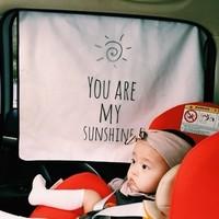 おしゃれな車用サンシェード8選!赤ちゃんの日焼け対策や目隠しに♡