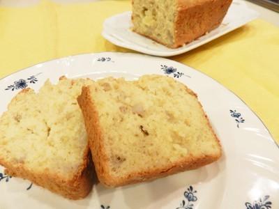 バナナ餅のケーキ
