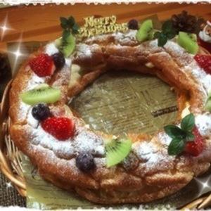 ホットケーキミックスで簡単♡華やかなクリスマスケーキのレシピ