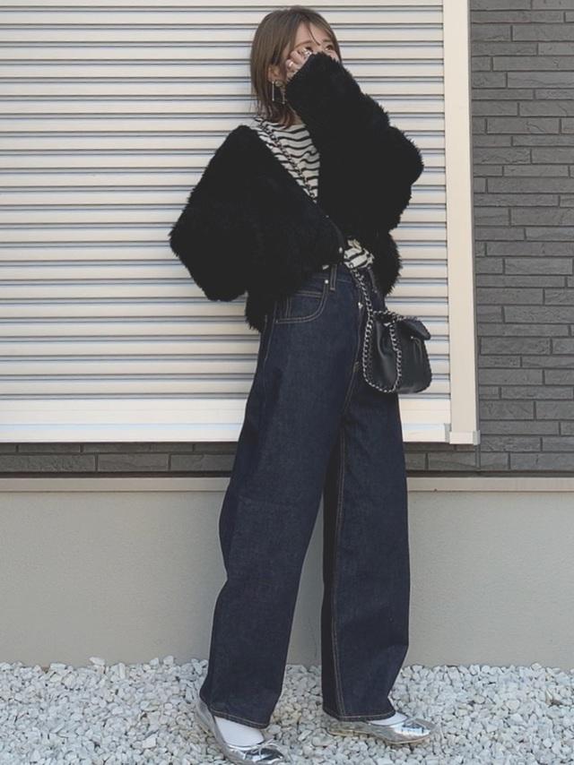 wearのデニムコーデ