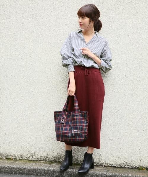 ローリーズファームのタイトスカート