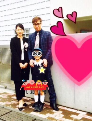 芸能人ママの入学式ファッション⑤ 吉岡美穂さん