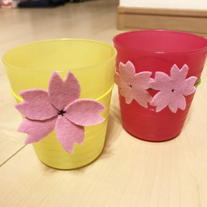 お花見にいかが?家にあるもので簡単にできる「手作りグッズ」4つ♡