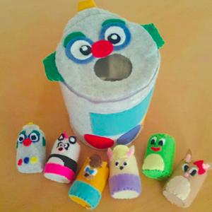 ほっこり可愛い♡ペットボトルキャップで作る《子供の手作りおもちゃ》