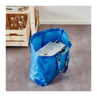 耐久性抜群!99円「IKEA」ブルーバッグのリメイク活用法を紹介♪