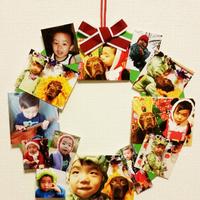 クリスマスリースを子どもと一緒に手作りしよう♪簡単アイデア7つ