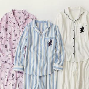 大人気のGUパジャマに新作『ふしぎの国のアリス』シリーズが登場♡