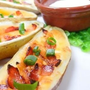 サツマイモを皮ごと使う☆オシャレな「スイートポテトスキン」レシピ