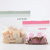 ニトリにIKEAも♪冷凍保存用にも使える可愛いフリーザーバッグ5つ
