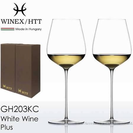 WINEX HTT ホワイトワイングラス 2脚セット