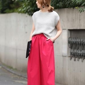秋のトレンドカラー「フューシャピンク」♡ママはどう着こなす?