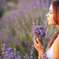 夏季閃耀的植物之星「薰衣草」☆手作護膚小物介紹♡