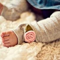 靴下でベビー服にリメイク!赤ちゃん用レギンス&タイツの作り方