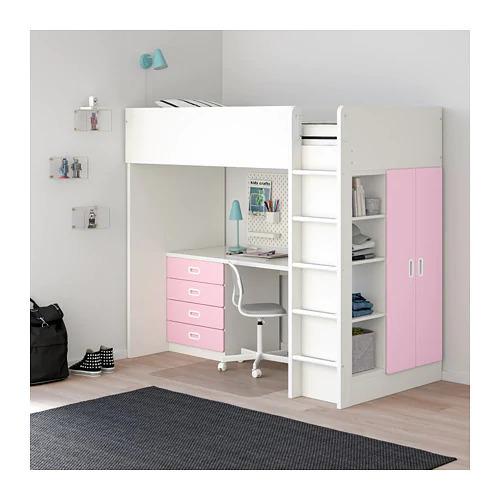 IKEAのシステムベッドSTUVA(ストゥヴァ)