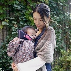 ママも赤ちゃんも暖かい♡抱っこ紐を着けたときの防寒対策4選