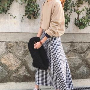 2018春の人気コーデ♡ギンガムチェックのスカートはこう着こなす!