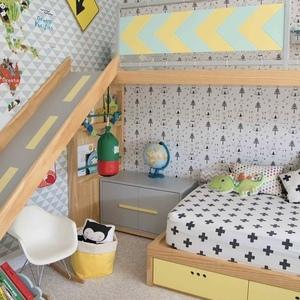 """""""2段ベッド""""で子どもお部屋を有効活用♪おしゃれなデザイン8選"""