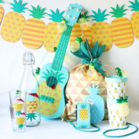 BBQにビーチ…夏にぴったり♡フライング タイガーの《パイナップルグッズ》
